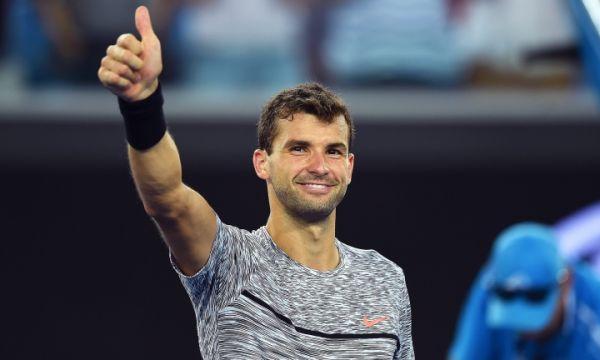 Димитров пречупи Рубльов и е на 1/8-финал в Австралия (видео)