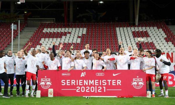 Ред Бул Залцбург спечели титлата в Австрия