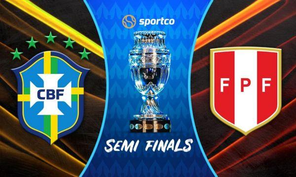 Бразилия ще размаже Перу по пътя към финала